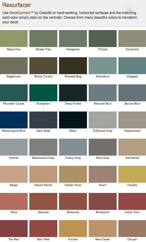 Deckcorrect By Cabot Hirshfield S Deck Paint Deck Colors Deck Paint Colors