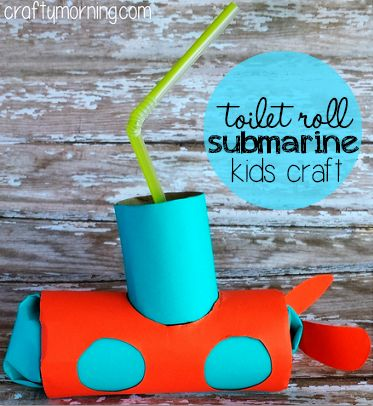 recycled-toilet-paper-roll-submarine-craft