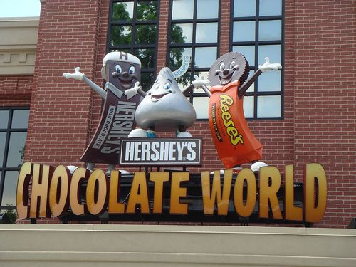 Visit the Hershey Chocolate Factory - Hershey, PA by Live Simply, via Flickr