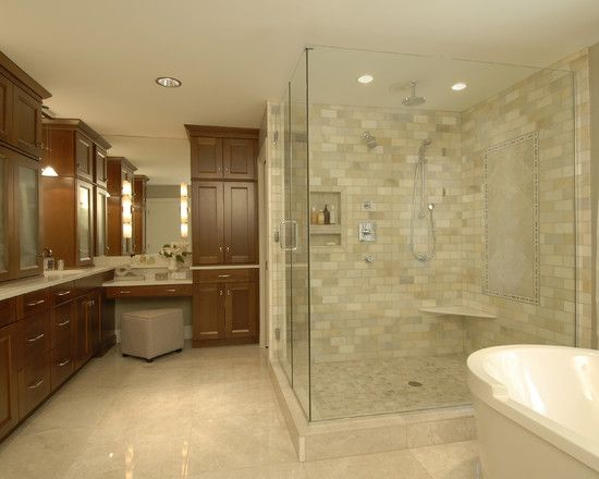 Bathroom Design Contemporary Bathroom With Comely Beige