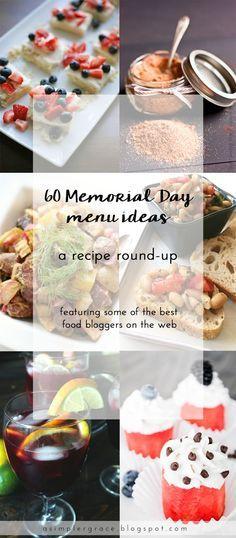 60 Memorial Day Menu Ideas | A Recipe Round-Up