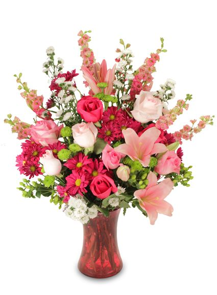 Valentine's Day Flower Arrangements | HOPELESSLY IN LOVE Floral Arrangement: