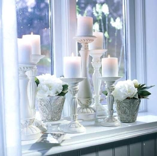 Candles For Window Sills Vintage Rose Bathroom Window Sill Window Ledge Decor Ledge Decor Window Sill Decor