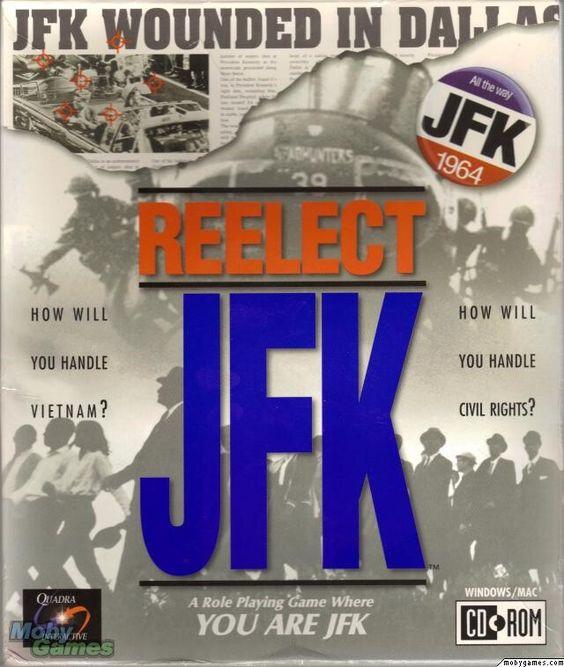 REELECT JFK PC GAME +1Clk Windows 10 8 7 Vista XP Install