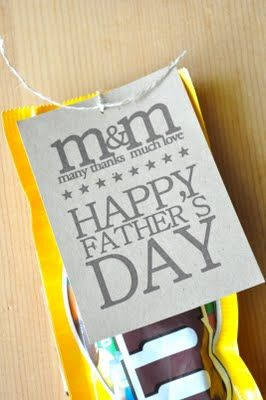 Could work for anything, not just Father's Day #packaging