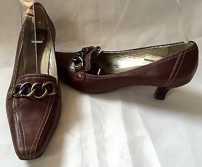 Clarks Ladies Brown Court Shoes K by Clarks Size 6 | eBay