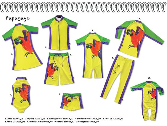 Solamigos SS13, Papagayo - ecological, multifunctional, UV-protective high-end design for children. www.solamigos.com