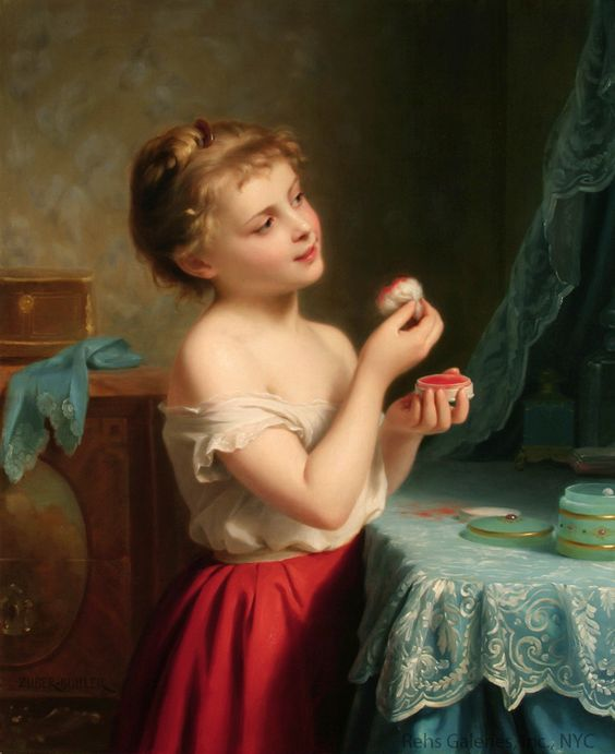 'A Little Rouge' by Fritz Zuber-Buhler