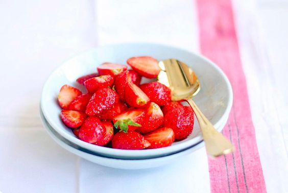 balsamic #strawberries