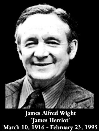 James Herriot.  He wrote some of the most beautiful books I've ever read.