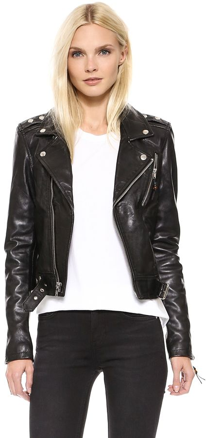 BLK DNM Leather Jacket 1: