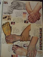 AS FINE ART SKETCHBOOKS Drawing Hands