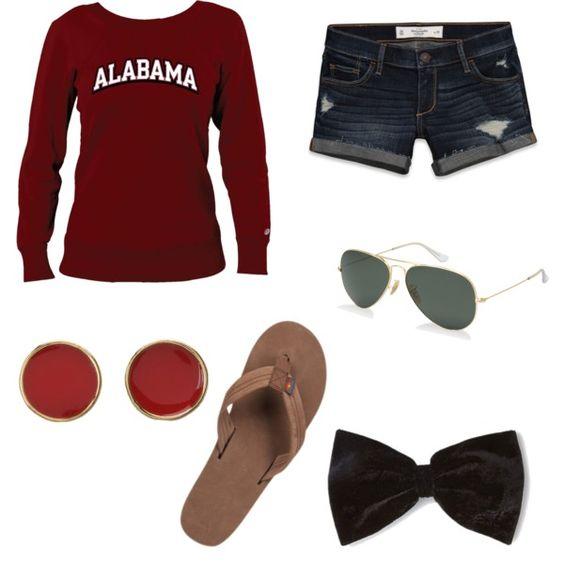 """""""Tailgating and game day"""" by southern-girl10 on Polyvore"""