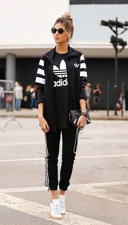 36+ Ideas How To Wear Adidas Pants
