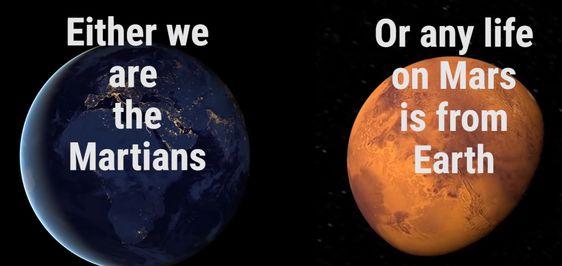 Wij komen van  Mars?
