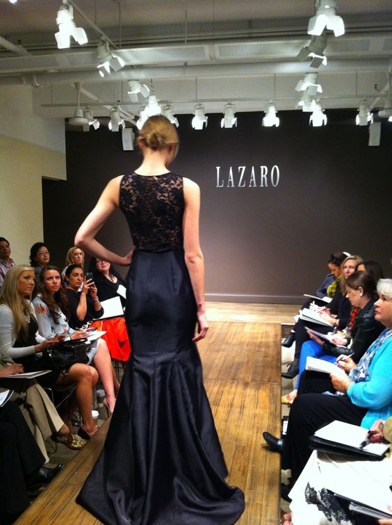 Black #lace gown.