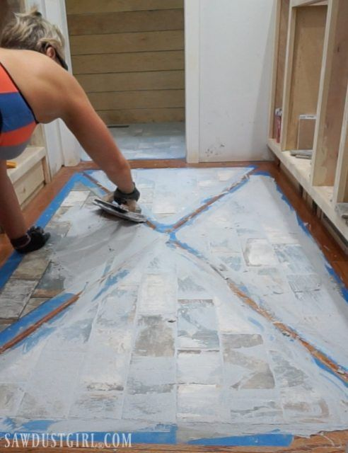 How To Install A Wood Floor With Tile Inlay Wood Floor Design Wood Tile Floors Flooring