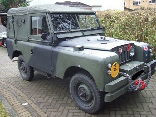 1961 Series 2a Military Land Rover For Sale Land Rover Land
