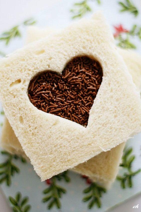 Chocolate Sprinkle Sandwich by lefrufru