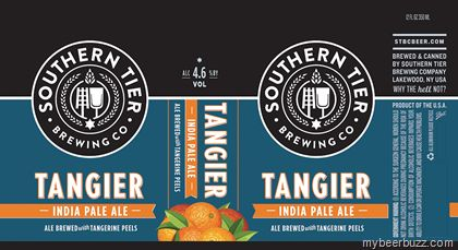 mybeerbuzz.com - Bringing Good Beers & Good People Together...: Southern Tier - Tangier IPA Coming To 12oz Cans