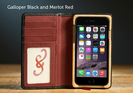 Luxury Pocket Book for iPhone 6 - Pad & Quill