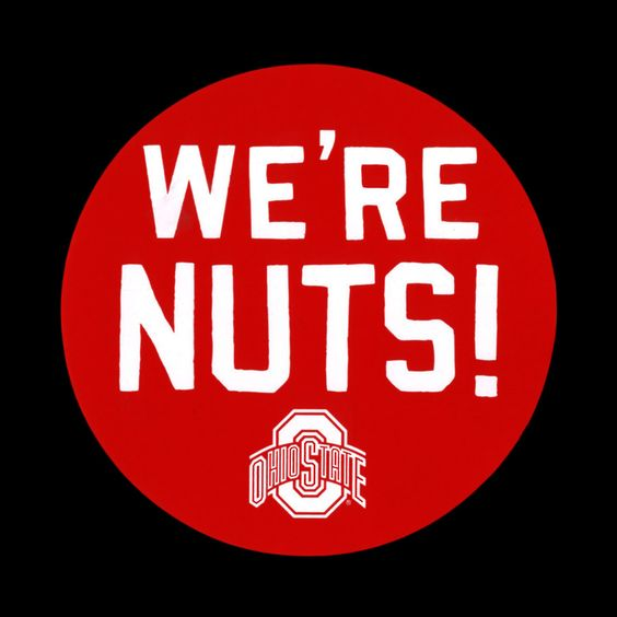 HOMAGE We're Nuts! Buckeye Nuthouse Fan Sticker - $1.00