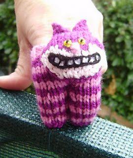 Avec de la laine: finger puppets