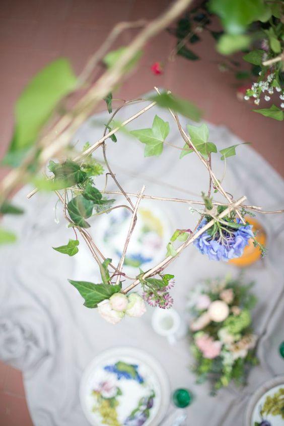 picnic con flores - Decoración de eventos en All Lovely Party