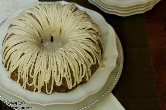 Lynsey Lou's: Apple Cake with Brown Butter Frosting