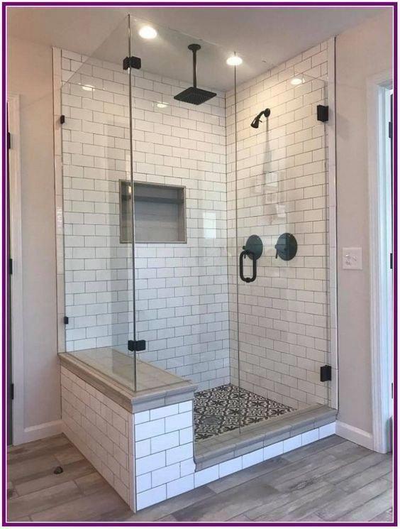 30 Impressive Master Bathroom Remodel Ideas Before After Images Farmhouse Master Bathroom Bathroom Remodel Shower Bathrooms Remodel