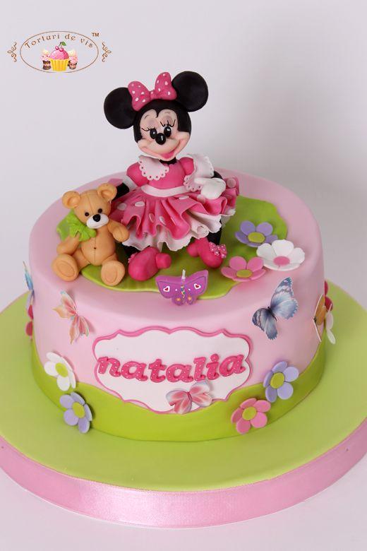 Tort cu Minnie pentru Natalia