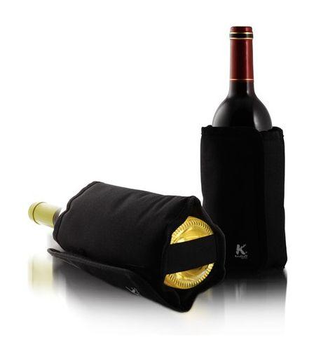 Mangas enfriadoras elegantes que mantendrán el vino a la temperatura ideal.