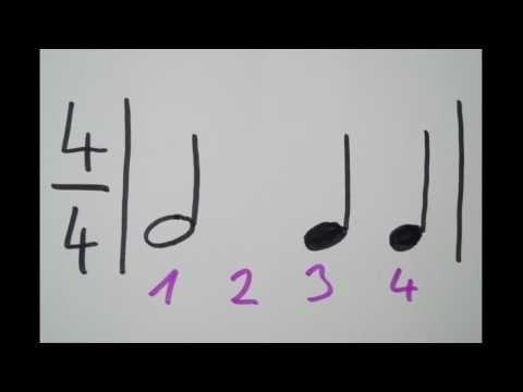 Rhythmen Zahlen Und Klatschen Lernen Teil 1 Youtube Musik Lernen Noten Lernen Geige Lernen