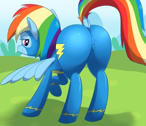 my little pony friendship rainbow dash and my little pony