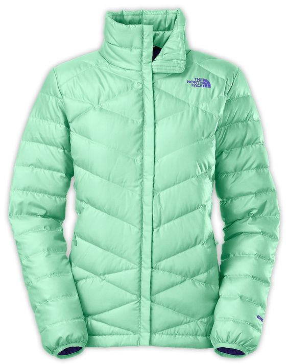 North Face Women's Aconcagua Down Jacket in Surf Green