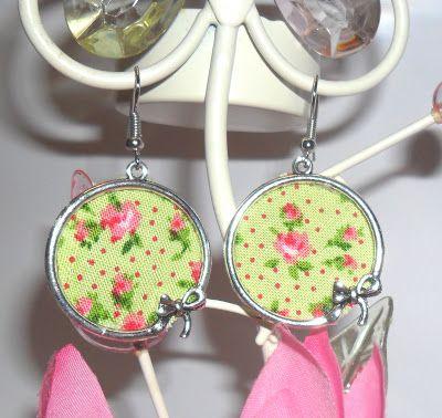 Rosa Chá Atelier : Brincos Primavera/verão 2013 Fabric earrings