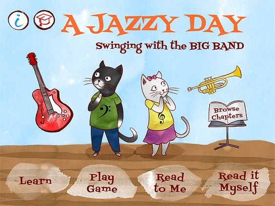 A Jazzy Day Menu Screen © The Melody Book