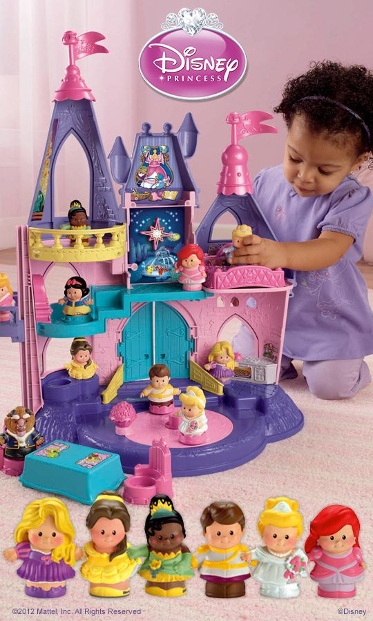 Little people disney princess songs palace does she for Little princess castle
