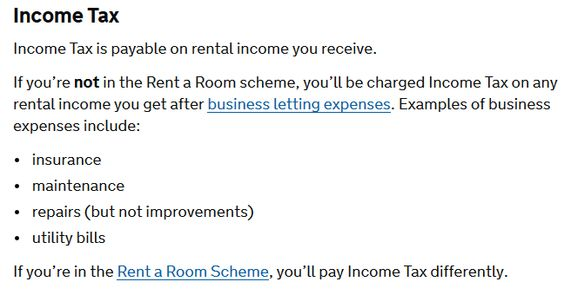 Tax on Income from Rental Property in UK \u2013 explained Taxeezy Tax
