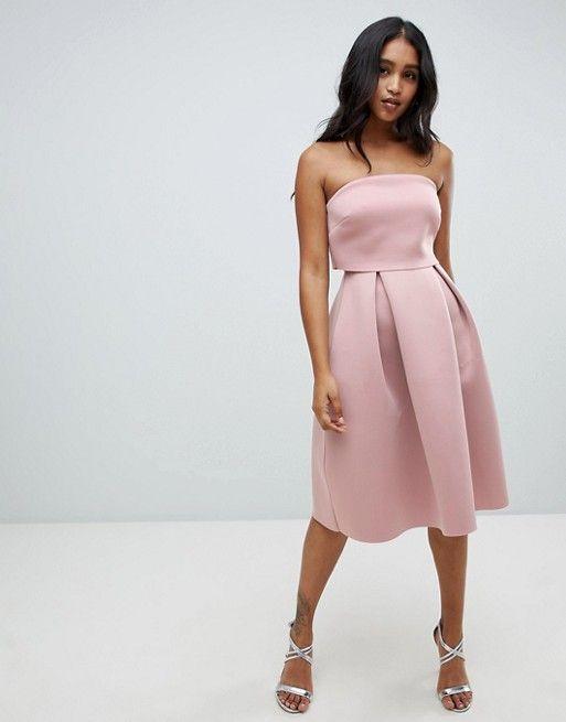 48+ Asos design bandeau crop top maxi prom dress ideas in 2021