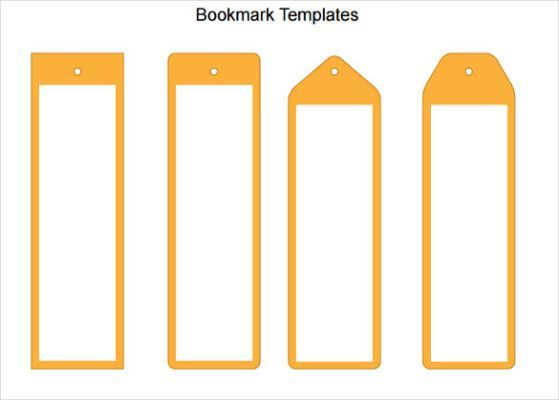 Blank Bookmark Template 135 Bookmark Template Bookmarks