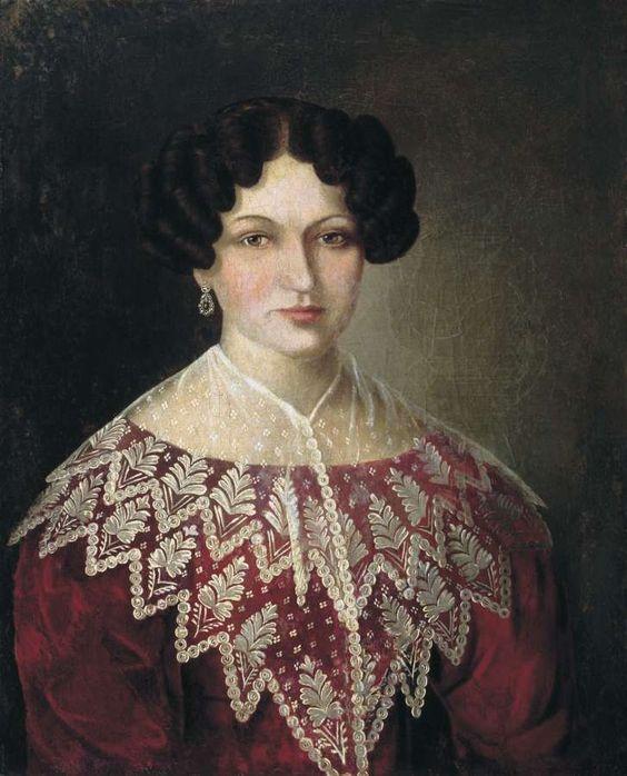 Женский портрет. 1830 - Аргунов Яков Иванович