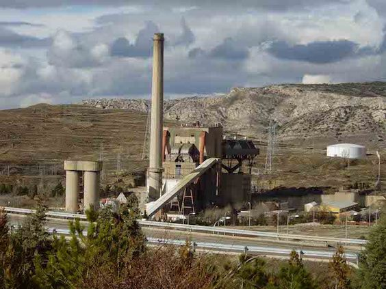 Patrimonio Industrial Arquitectónico: Proyecto de derribo de la antigua central térmica ...