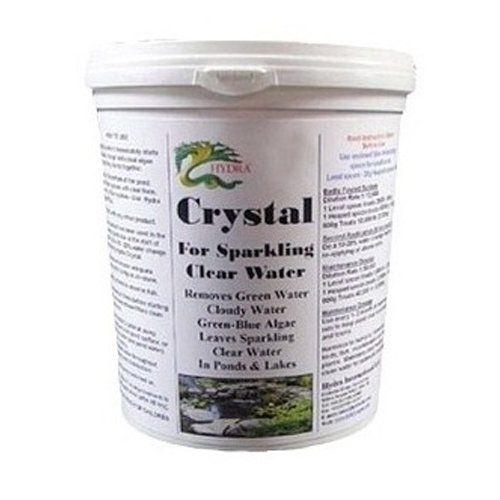 Algae remover control hydra crystal 28oz treat for Koi pond water murky