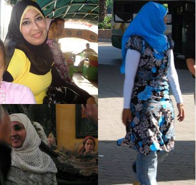 I simply adore Egyptian hijab style!