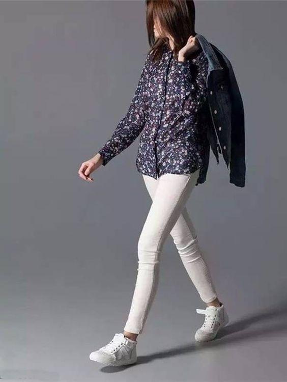 Camisa Feminina Estampa Floral - Camisas | DMS Boutique