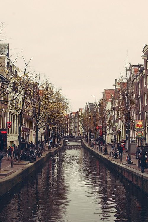 amsterdam red light district dam square take me back