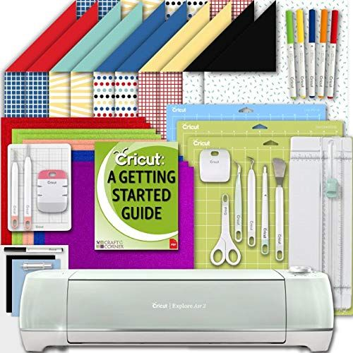 Cricut Explore Air 2 Machine Paper Bundle With Tools Gripmat Pens And Ebook For More Information Visit Image Cricut Explore Air Cricut Paper Craft Tools