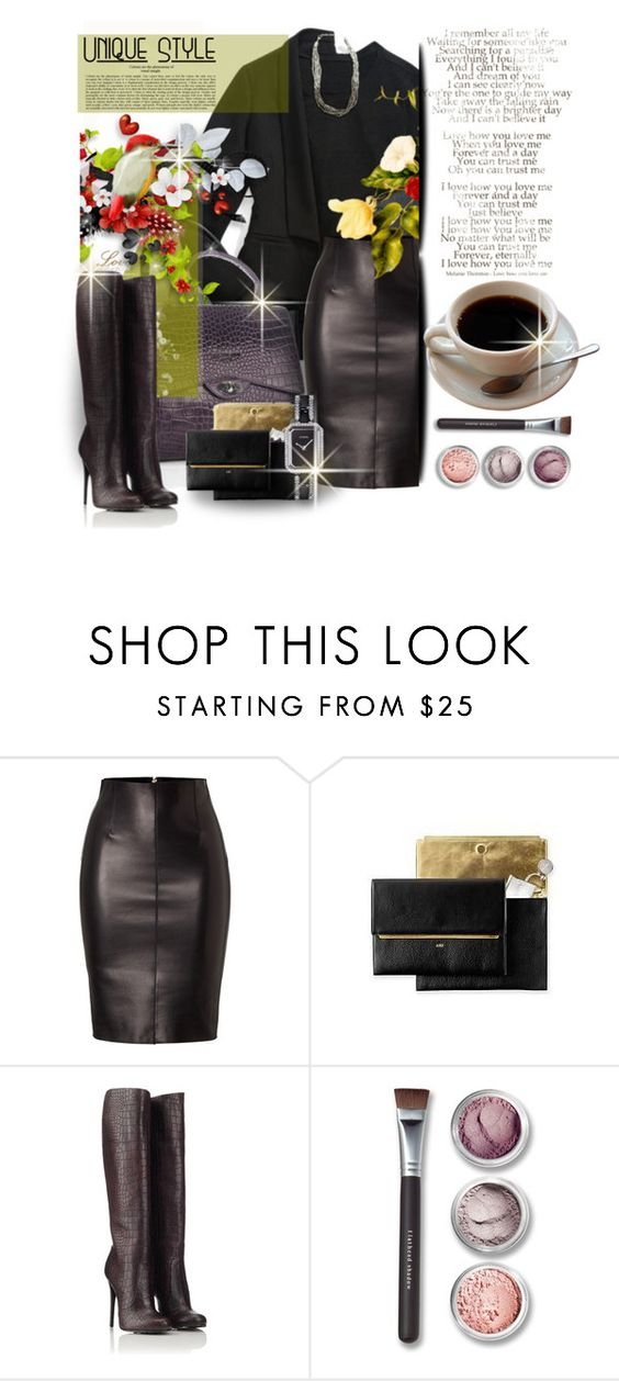 """UNIQUE Style"" by mlka ❤ liked on Polyvore featuring Dsquared2, Giuseppe Zanotti, Bare Escentuals and Chanel"