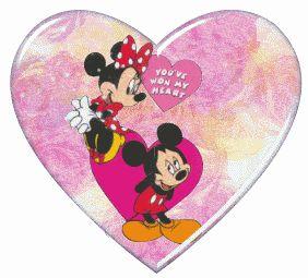 Mickey y Minnie Enamorados